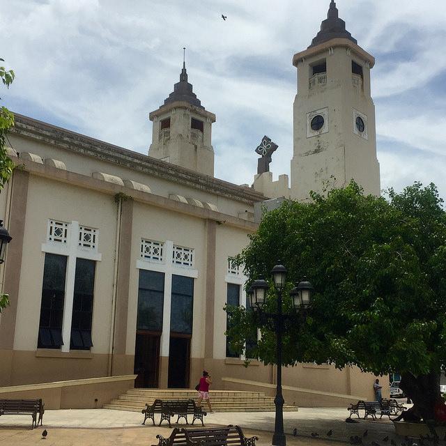 catedral san felipe, parque independencia, san felipe cathedral, puerto plata, dominican republic