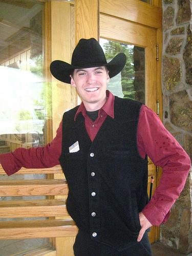 """Chad McDonald"" Big Sky, Montana, cowboy"