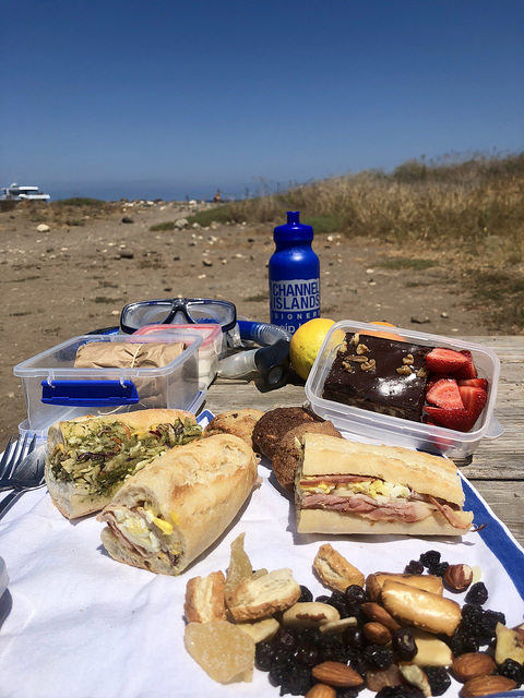 things to know before you travel to channel islands, channel islands provisioners, picnic lunch