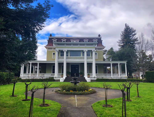 Churchill Manor Bed and Breakfast in Downtown Napa