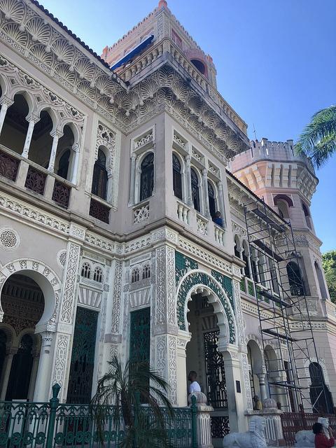 palacio de valle, valley palace, 5 things to do in cienfuegos cuba, cuban architecture