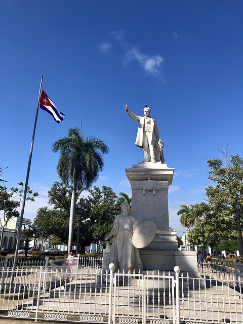 josi marti square, 5 things to do in cienfuegos cuba, unesco heritage certified, historic center