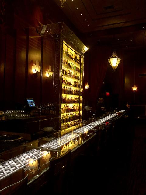 clift royal sonesta hotel review, clift redwood room, art deco bar, union square san francisco bar, clift hotel bar