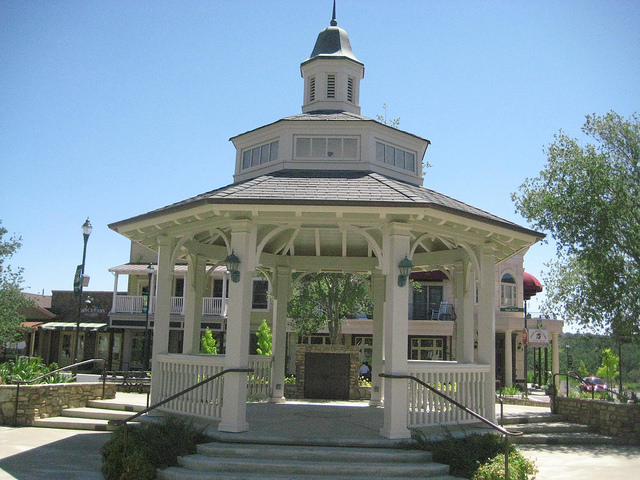 copperopolis gazebo, town square, copperopolis, california, gold country