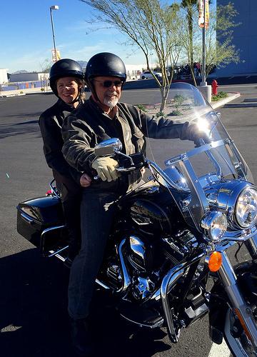 Nancy Brown, Harley-Davidson, motorcycle