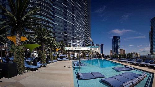 """""""Cosmopolitan Bamboo Pool Las Vegas"""""""