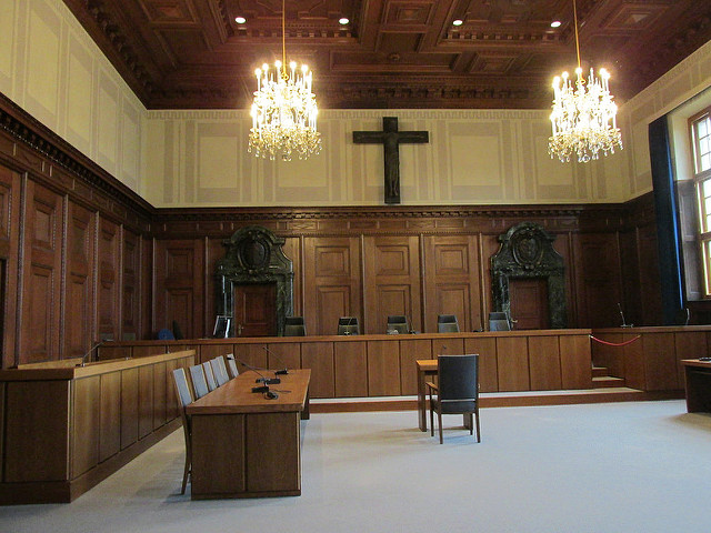courtroom 600, palace of justice, nuremberg, germany