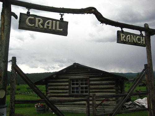 """Crail Ranch"" Big Sky, Montana, museum"