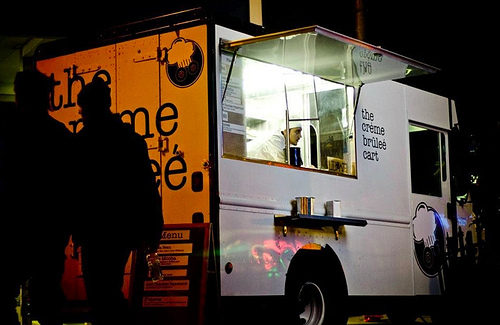 """Creme Brulee Truck"""