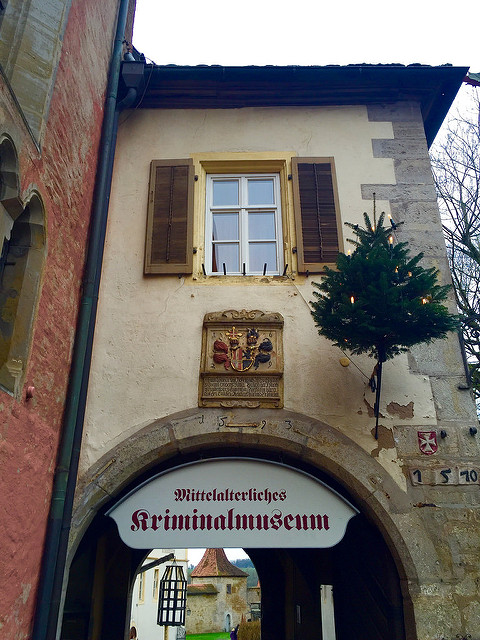 criminal mseum, rothenburg ob der tauber, germany