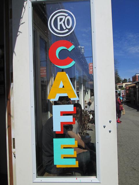 cro cafe, temescal tastes, oakland, california