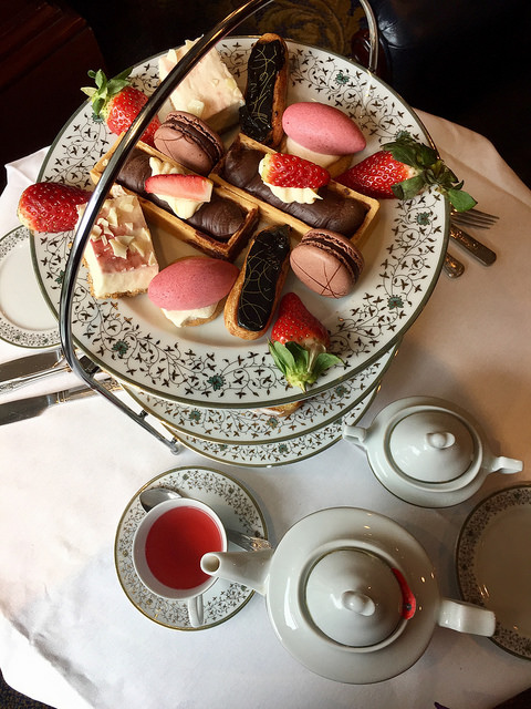 afternoon tea, davenport hotel, presidents bar, merrion square, dublin, ireland