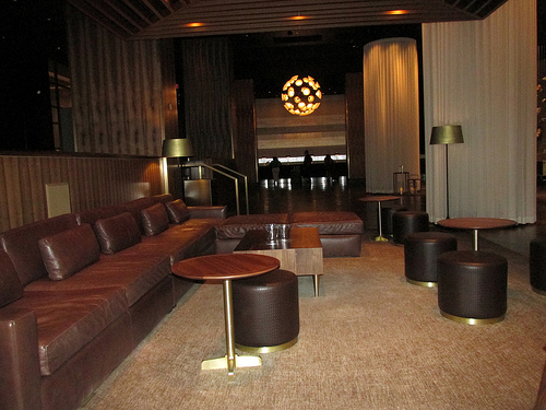 Delano lobby, Las Vegas, Nevada