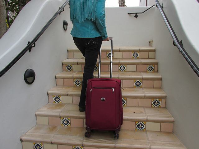 delsey, montmartre, luggage review