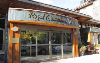 royal canadian lodge, banff, alberta, canada