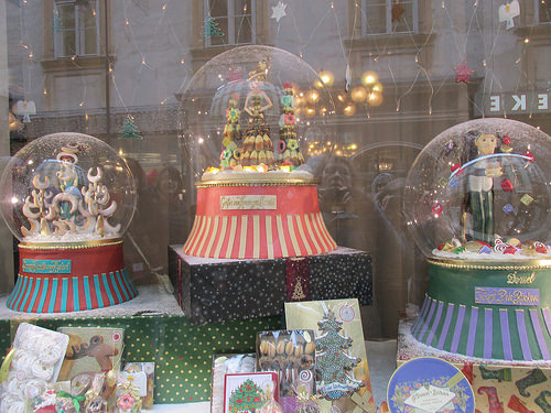 Demel, snow globe, Vienna, Austria