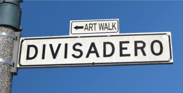 Divisadero Art Walk, San Francisco, California, Nancy D. Brown, travel