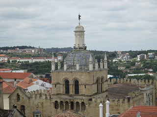 Old Cathedral, Coimbra, Portugal