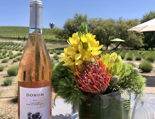 Sonoma Wine Blends with Art at Donum Estate