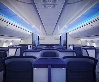 """""""787 Dreamliner interior"""""""