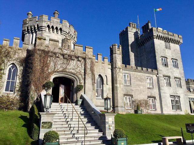 dromoland castle, county clare, newmarket on fergus, ireland, castle hotel, luxury castle