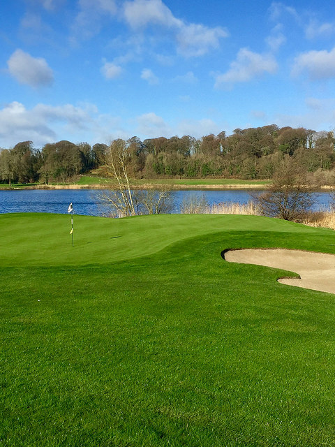 dromoland golf course, dromoland golf & country club, county clare golf, ireland golf