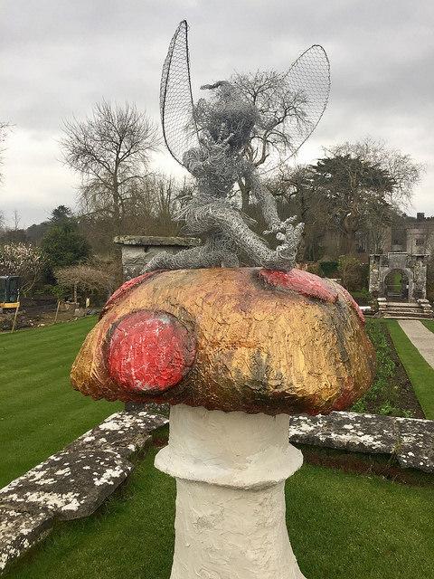 dromoland castle, sculpture garden, county clare, ireland, garden