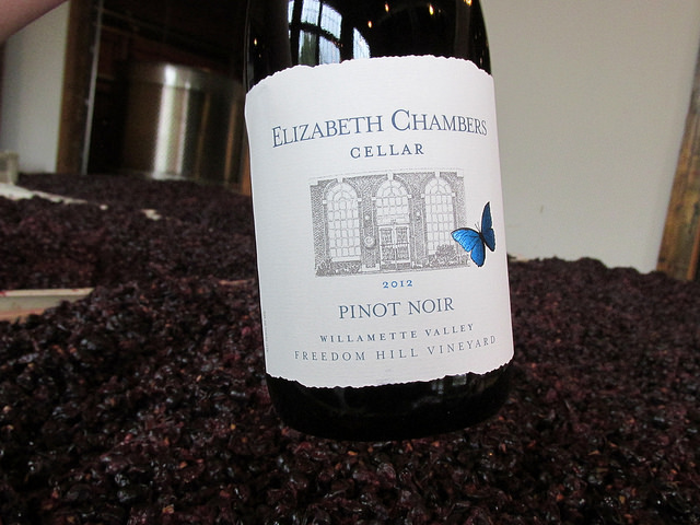 Elizabeth Chambers Cellar, wine, willamette valley