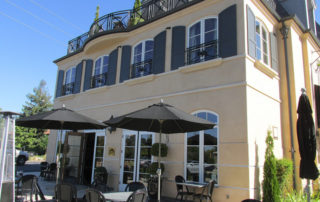 enchante hotel, los altos hotel, pet-friendly hotel in los altos, patio dining