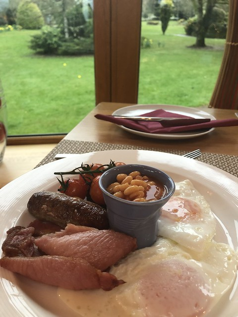 breakfast buffet, errichel house bed & breakfast, scottish breakfast
