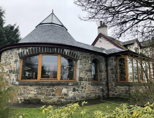 Errichel House B&B in Scottish Highlands