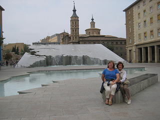 """Espani Fountain"" Zaragoza"