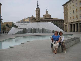 """Espani Fountain"" Zaragoza"