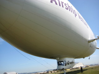 Airship Ventures, zeppelin