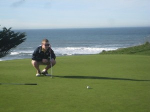 Half Moon Bay, golf, Evan Brown