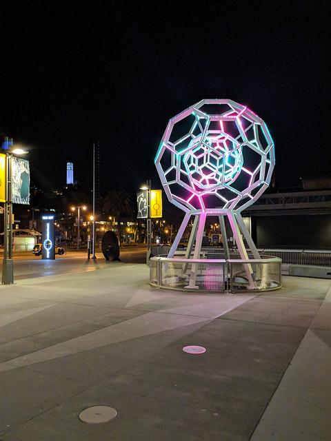 exploratorium after dark, pier 15, san francisco, california