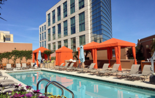 four seasons palo alto, palo alto, palo alto hotel pool, east palo alto hotel, luxury hotel silicon valley,