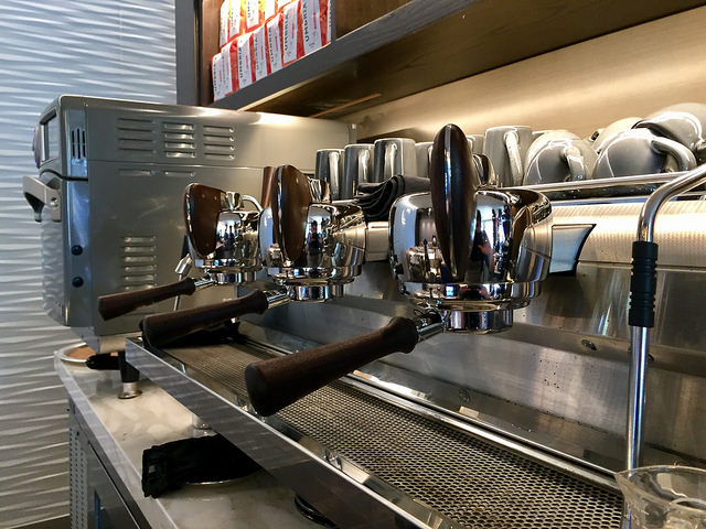 slayer espresso machine, four seasons palo alto, coffee, hand-crafted espresso machine, four seasons palo alto esc