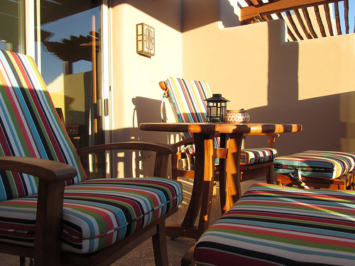 Four Seasons Resort Scottsdale at Troon North, patio, Arizona