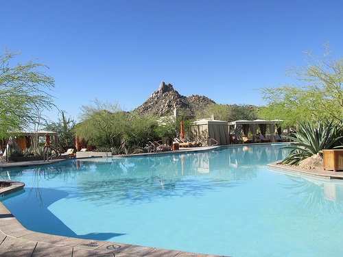 Four Seasons Resort Scottsdale at Troon North, pool, Arizona