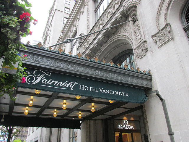Fairmont Hotel Vancouver In Downtown