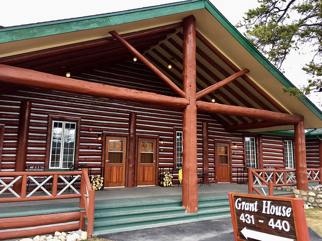 grant house, fairmont jasper park lodge, jasper, alberta, canada, hotel