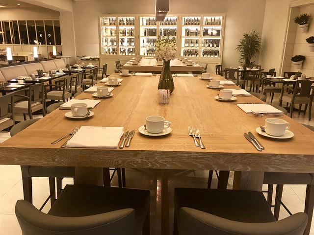 breakfast, market restaurant, fairmont rey juan carlos 1, barcelona, spain hotel