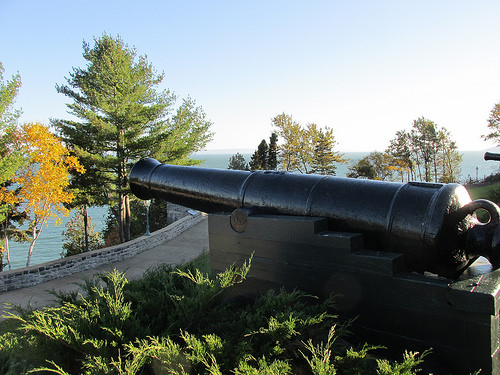 cannon, Fairmont Manoir Richelieu, Quebec, Canada
