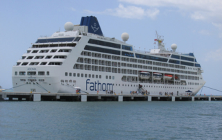 fathom, adonia ship, amber cove, dominican republic