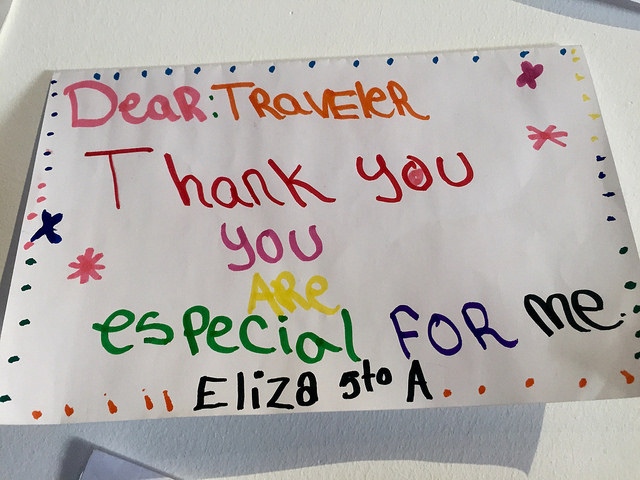 impact travel, fathom travel, puerto plata, dominican republic, thank you letter
