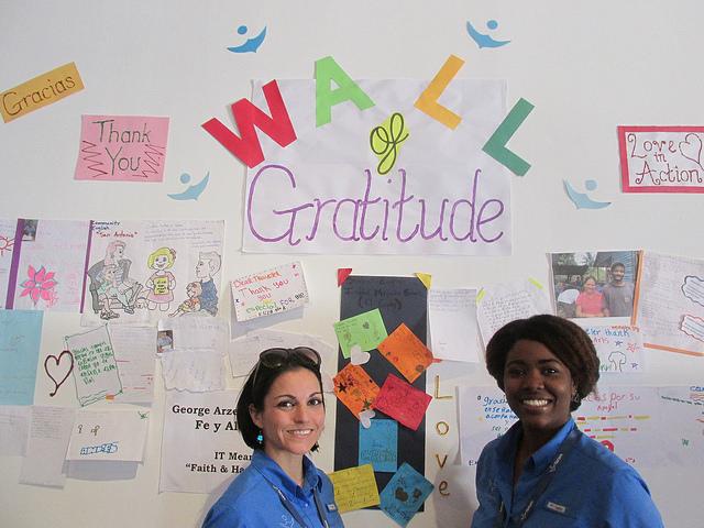wall of gratitude, impact travel, fathom travel, puerto plata, amber cove, voluntourism