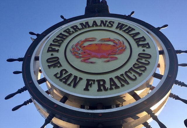 fishermans wharf, san francisco, california, crab