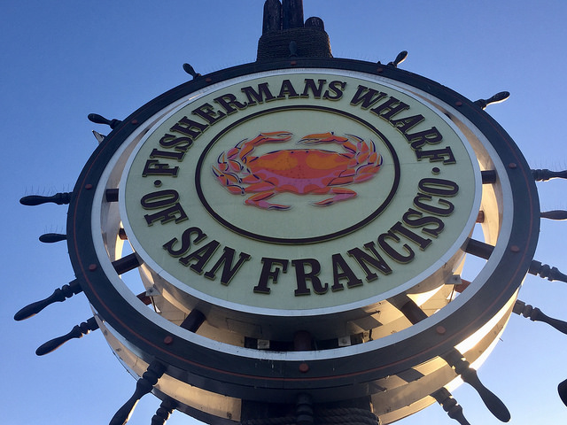 fishermans wharf, san francisco, california, crab