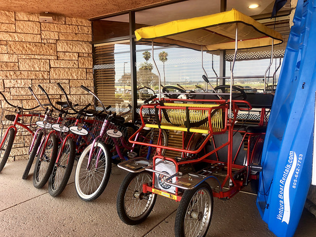 hotel review four points sheraton ventura harbor, bike rentals four points ventura harbor, ventura california hotel